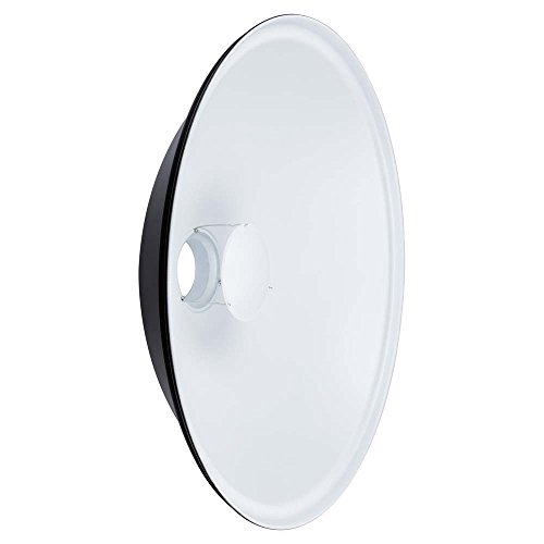 Interfit MBD28 Studio Essentials Large - 28'' Beauty Dish with Bowens S-Type Mount, White by Interfit