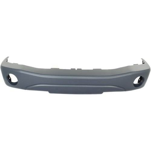 Front Bumper Cover for DODGE DURANGO 2004-2006 Primed with Fog Light - Bumper Durango Dodge Cover