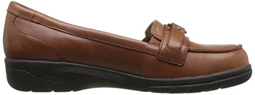 Clarks Womens Cheyn Marie Mocassino Slip-on In Pelle Color Cuoio