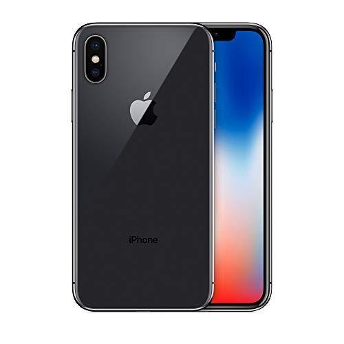 Apple Iphone X 64gb Space Gray Fully Unlocked Renewed