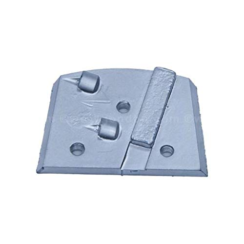 Trapezoid Pad with PCD and Sacrificial Bar (3 Units)
