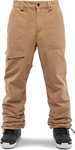 thirtytwo Men's Sweeper Snowboard Pants 2019 (Large, Brown) (Best Mens Snowboard Pants 2019)