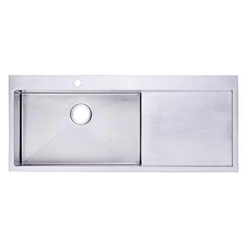 "BAI 1233 - 48"" Handmade Stainless Steel Kitchen Sink Sing..."