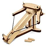 Miniature Ballista Kit - Wooden Desktop Warfare Ballista by Abong