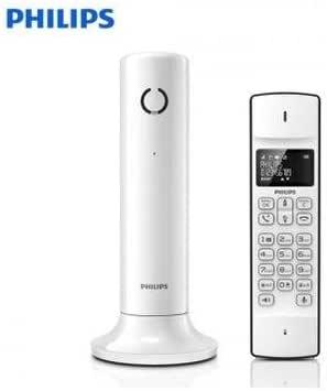 Philips M3301 W – Teléfono inalámbrico eco + línea diseño con identificador de llamadas: Amazon.es: Electrónica