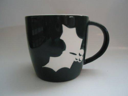 Starbucks Holly Winter Holiday Coffee Mug Green, 16oz (11015207)