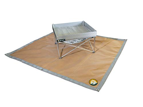 Ember Mat - Protect The Area Underneath Your BBQ Grill or Fire Pit from Grease and Popping Embers
