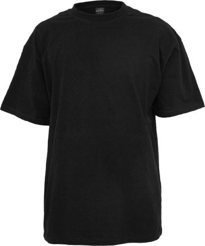 Urban Classics Herren TB006 großes T-Shirt Kurzarm T-Shirt XXL schwarz