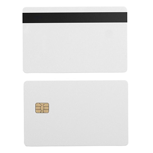 Fargo Hdp5000 Magnetic Stripe - SLE4442 Chip Cards w/ HiCo 2 Track Mag Stripe - 200 Pack