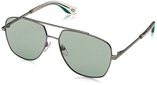 - Marc Jacobs Women's Aviator Sunglasses, Dark Green/Green, One Size