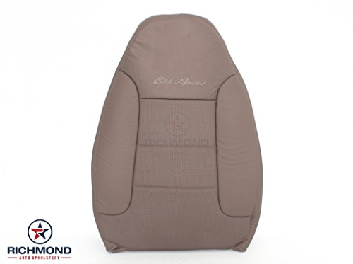 1992-1996 Ford Bronco Eddie Bauer - Driver Side Lean Back Replacement Leather Seat Cover, Tan (Seats Bronco Ford)