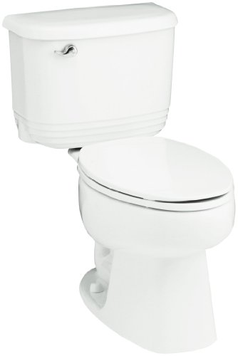 Sterling 402084-0 Riverton 12-Inch Rough-in Elongated Toilet, White
