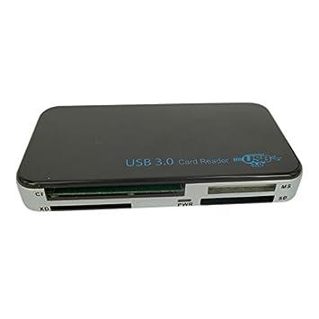 letoe lector de tarjetas USB 3.0 compacto flash Multi Lector ...
