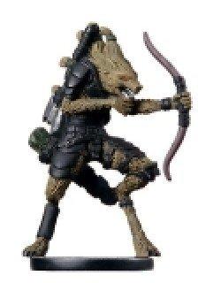 D & D Minis: Gnoll Archer # 52 - Archfiends by D & D Minis