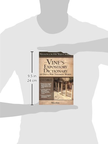 Vine's Expository Dictionary of the Old and   New Testament Words (Super Value Series) by HarperCollins Christian Pub.