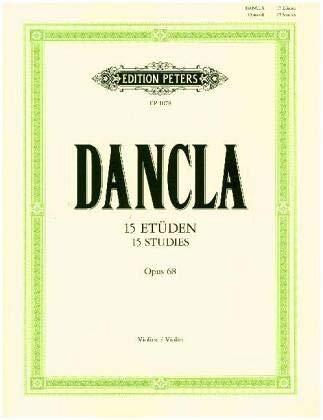 Dancla: 15 Studies for 2 Violins, Op. 68 ()