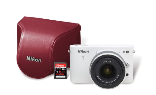 Nikon 1 J1 10.1 MP HD Digital Camera System with 10-30mm ...