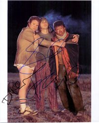 Signed Pineapple Express 8x10 By Seth Rogen, James Franco and Danny McBride autographed by Powers Collectibles
