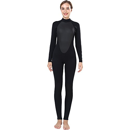 Ladies 3mm Size Medium Long Sleeves CR Neoprene Women Wetsuit Diving Surfing - Wet Women's Suit