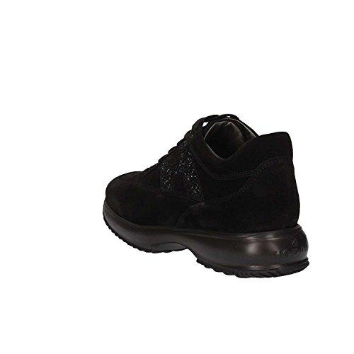 Hogan Zapatillas Mujer HXR00N00240GHMB999 Junior Negro 8r48gw