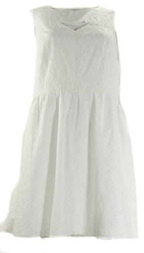 UPC 700291062953, Kensie Women's Floral Eyelet Dress, White, Large