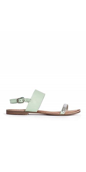 Complementos Amazon Verdes Gioseppo Planas Sandalias Color Mujer Y 37 Zapatos es Menta Talla qaarTZ7nW