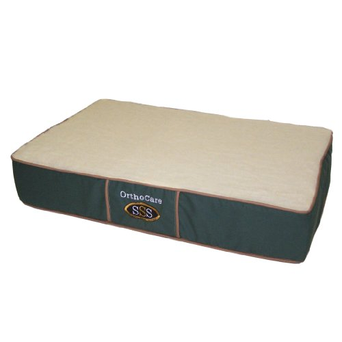 Pet Goods OrthoCare Dual Density Foam Pet Bed 20″x30″x7″, My Pet Supplies
