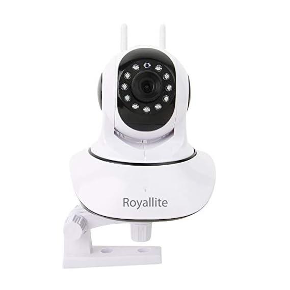 Royallite Royal Lite HD IP Wifi CCTV Indoor Security Camera,(White Color)