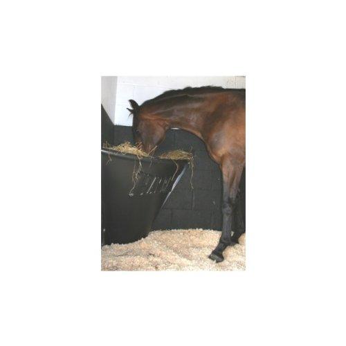 HAYBAR Horse Hay Bar - Horse Feeder Black