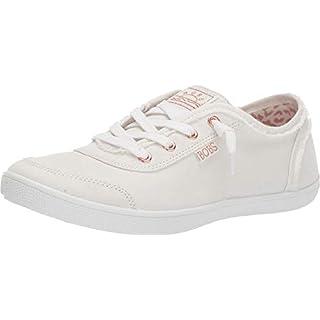 Skechers womens Bobs B Cute Sneaker, White, 10 US