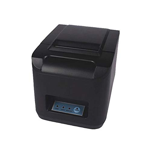 Heptern POS-8320 80MM Ticket Thermal Printer Supermarket Kitchen Waterproof Oil Proof Label Receipt Printer USB/LAN/LTP Port for Retail POS Catering Systems (8320 Usb)