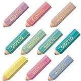Fila Happygummi in potloodvorm, verschillende pastelkleuren, rubber, meerkleurig, 8000825027864