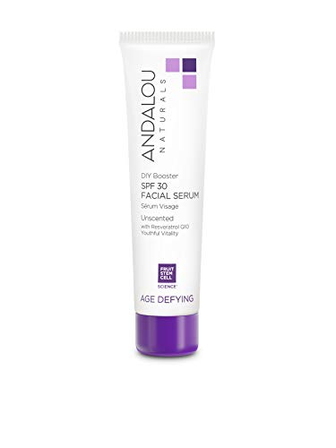 Andalou Naturals DIY Booster SPF 30 Facial Serum Unscented, 2 Ounce
