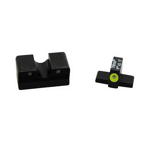 Trijicon SG601-C-600865 HD XR Night Sight Set, Sig Sauer Calibrated for 9mm & .357 Sig, Yellow Front Outline Lamp