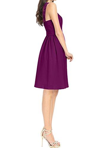 Spitze Linie Ivydressing Weinrot Kurz Ballkleider Spitze Damen A Promkleid Abendkleider Partykleid AAY7Oqw