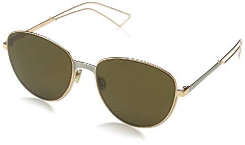 Christian Dior Ultradior/S Sunglasses Matte Gray Gold / Brown