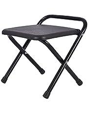 MARMODAY Krzesła kempingowe krzesło kempingowe ultralekkie składane przenośne wzornictwo przyjęcia wędkarskie czarny rozmiar S