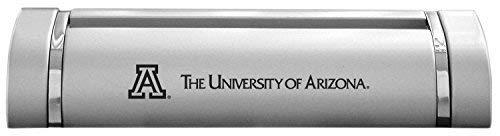 - LXG, Inc. University of Arizona-Desk Business Card Holder -Silver
