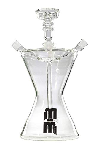 M&M Tech Glass Hookah Hourglass