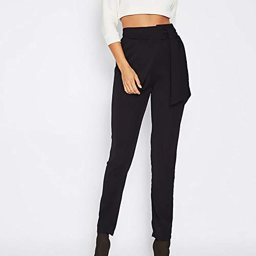 Jeans Skinny Slim Bowknot Pantalon Noir Stretch Pants Denim Taille Collants Haute Femmes Fit Crayon Vintage Amuster Pantalons Cwt4qvx