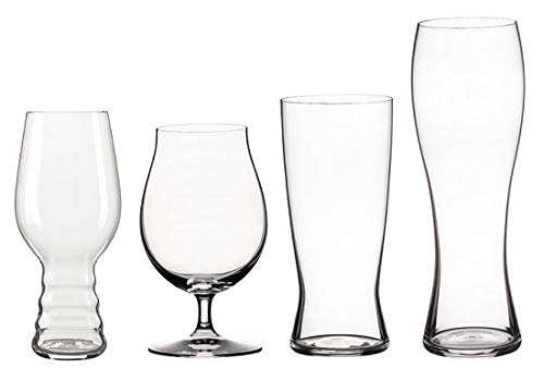 Spiegelau 499 16 95 Classic Tasting Kit (Set of 4) Beer Glasses, ()