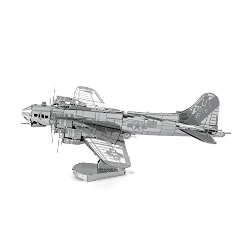 Metal Earth Fascinations MMS091 502489 Boeing B-17 Flying Fortress Construction Toy 2 Metal Board (Ages 14 +