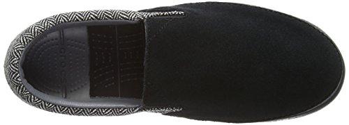 Crocs Crocs Norlin Herringbone Slip On M - zapatillas de sintético hombre Nero (Black/Charcoal)