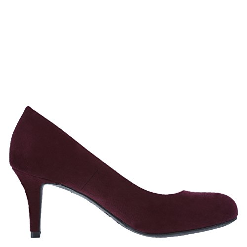 Wine Suede Pump Predictions Women's by Plus Comfort Karmen xWTqYxfR