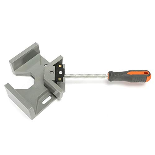 Ochoos Aluminum Alloy Die-Casting 90 Degrees Corner Clamp Right Angle Woodworking Vice Wood/Metal Weld/Welding Best