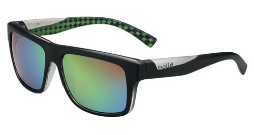 Bolle Sport Lifestyle Clint Sunglasses Frame 11829 Matte Black Lime - Clint Sunglasses