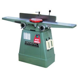 General International 80-100L M1 Jointer with Closed Stand, 6""
