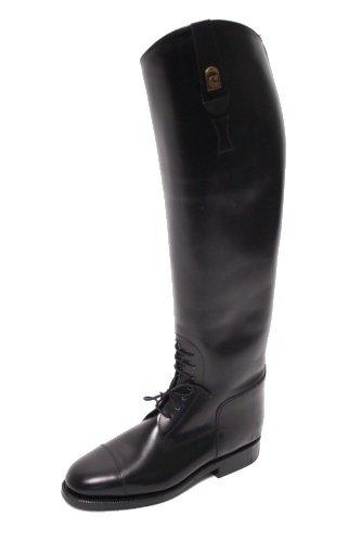 –Botas de equitación con punta negro tamaño 36,5/51/35