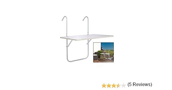 Mesa para balcón Masa ca. 60 x 40 cm