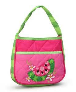 Quilted Watermelon Purse for Little Girls
